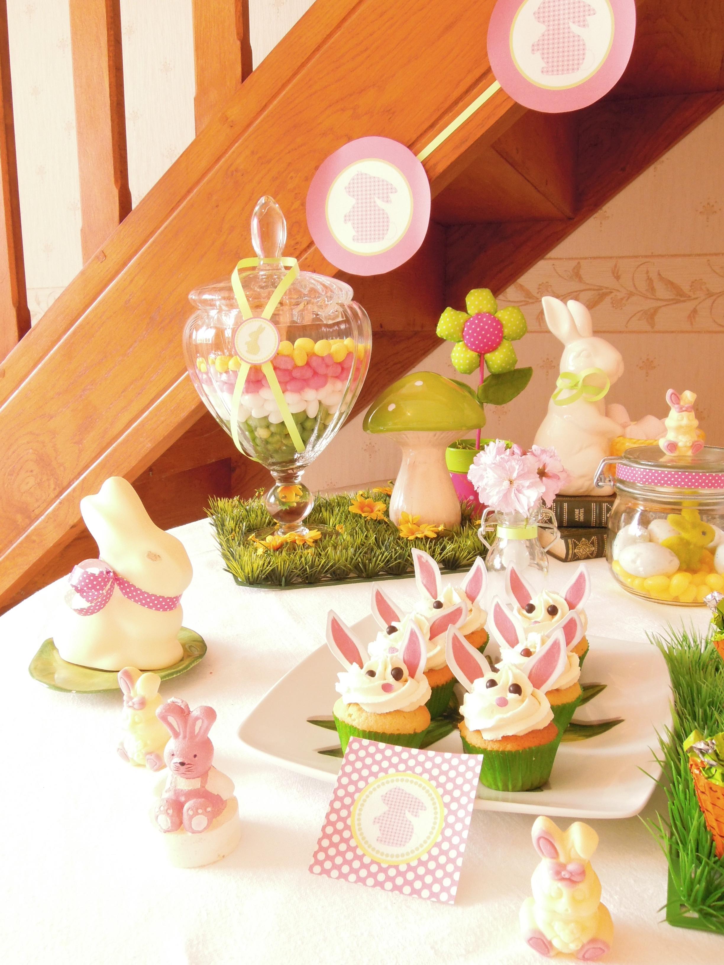 Joyeuses p ques sweet table avec la belle bulle lolit for Table de paques deco