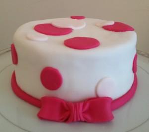 Cake Pois Rose Lolit' Cupcakes