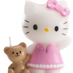 Bougie Hello Kitty Nounours
