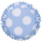 Mini Caissette à cupcakes - Pois Bleu