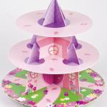 Présentoir à Cupcakes Château de Princesse
