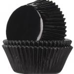 Caissette à cupcakes Noir