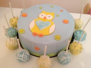 Cake Chouette