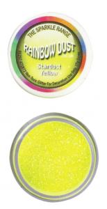 Paillettes alimentaire jaune