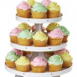 Présentoir à cupcakes Blanc Wilton