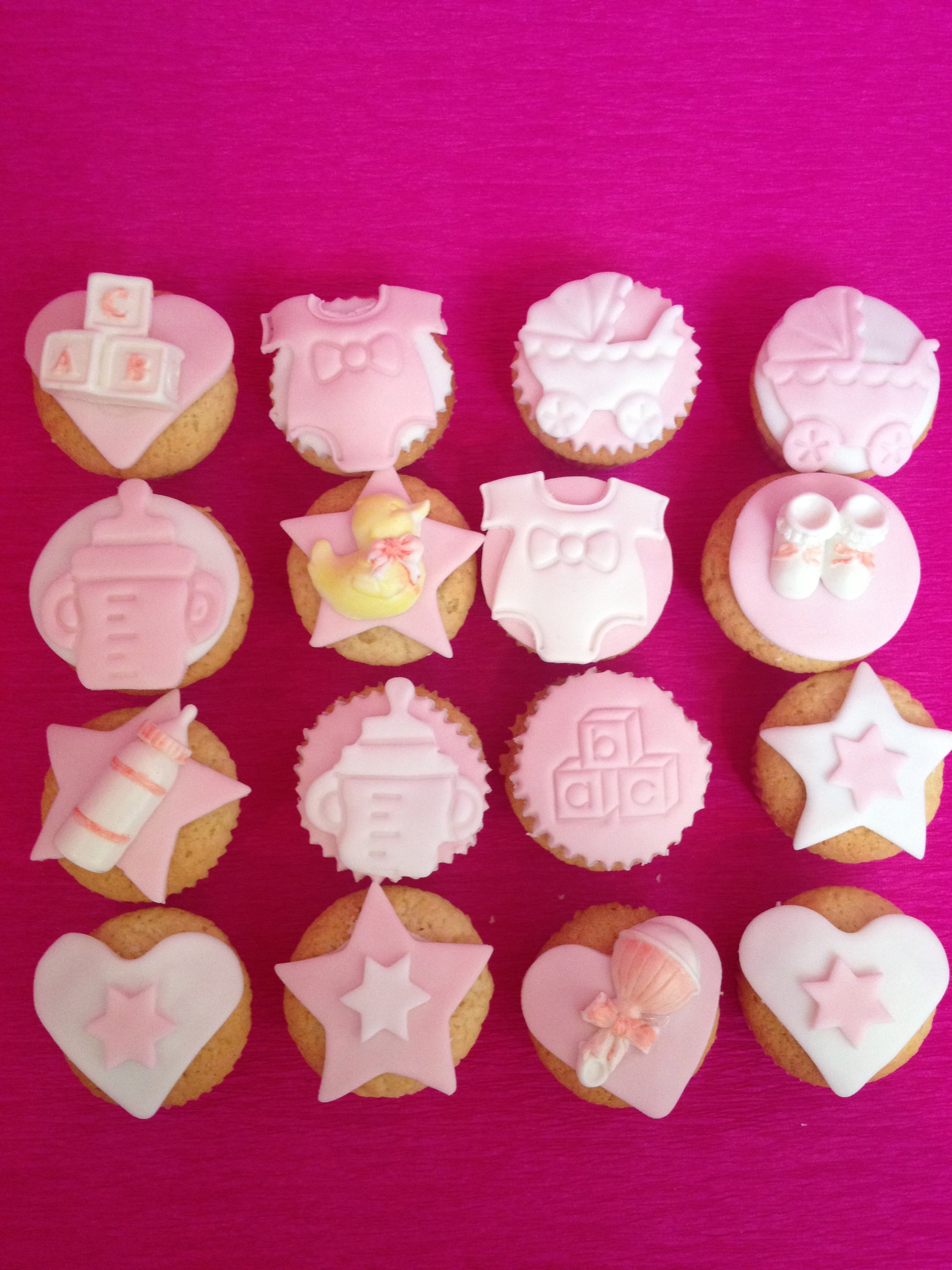 Baby Shower Fille Lolit Cupcakes