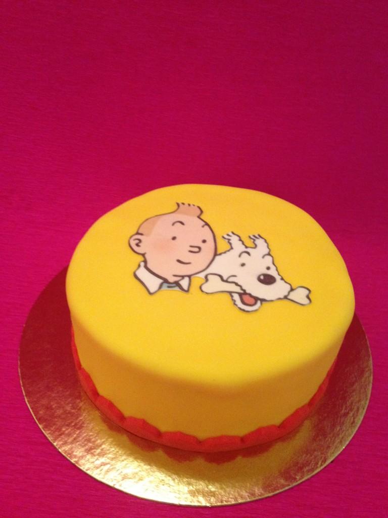 Gâteau Tintin