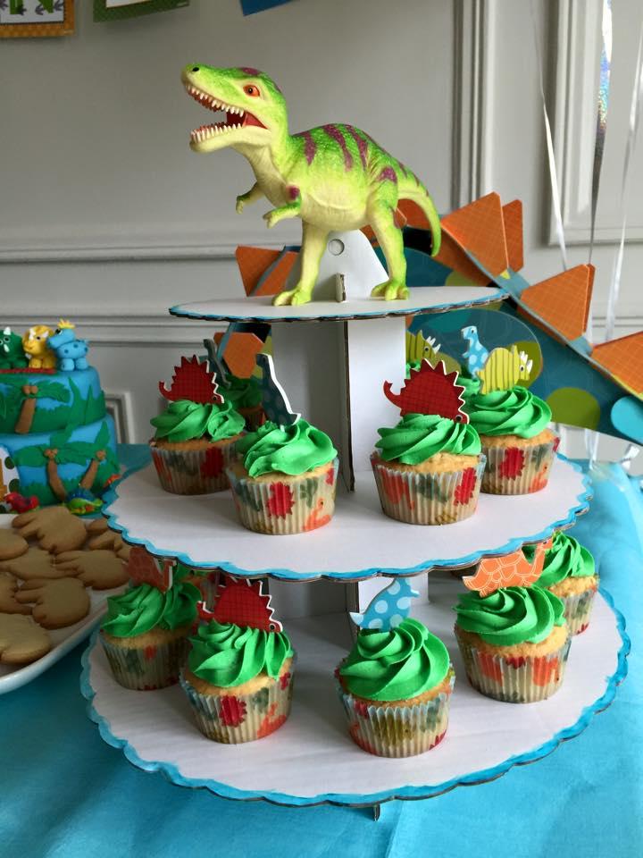 Cupcakes dinosaure