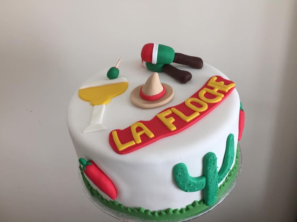 Gâteau thème mexique